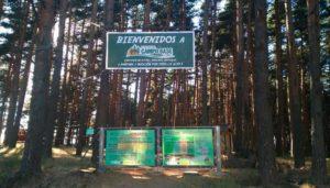 Parque de pino a pino Multiaventura Campo Base 5