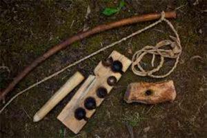 Cursos de supervivencia y bushcraft. Material para fuego