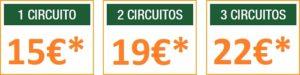 Ocio Madrid a 1 hora - Tarifas parque aventura